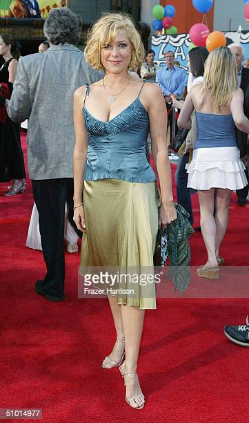 """Actress Jennifer Aspen arrives at the World Premiere of """"LA Twister"""" on June 30, 2004 at the Grauman's Chinese Theatre, in Hollywood, California."""