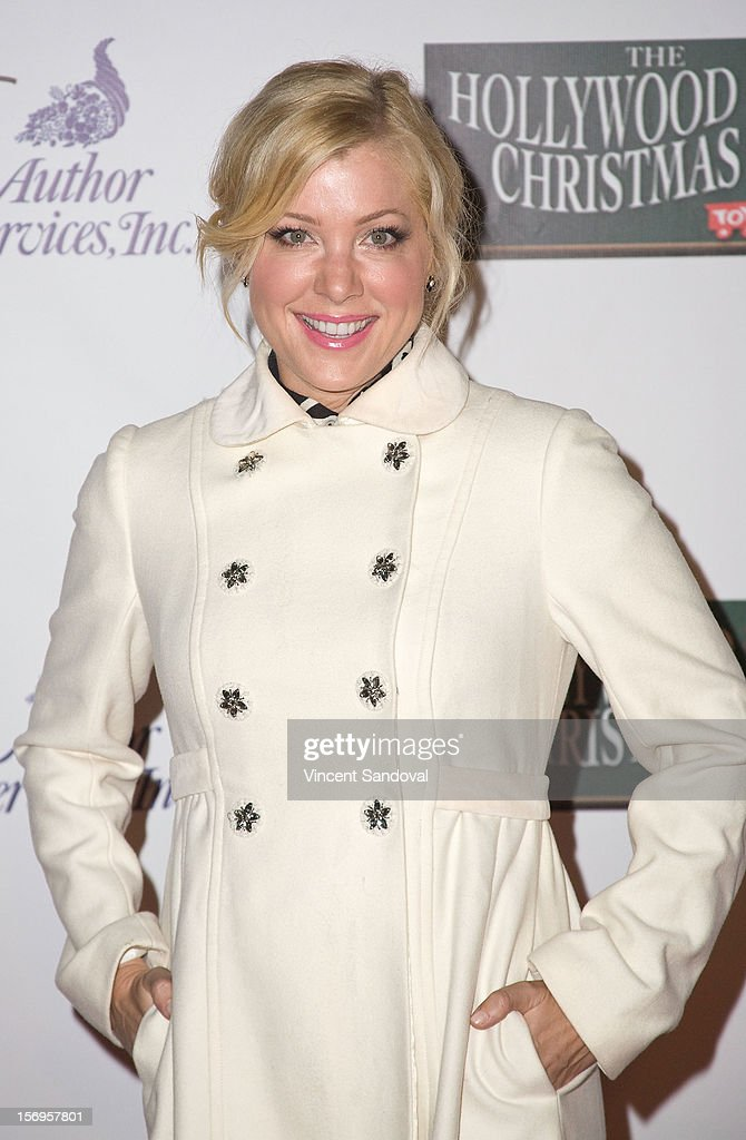 Actress Jennifer Aspen attends the 2012 Hollywood Christmas Parade Benefiting Marine Toys For Tots on November 25, 2012 in Los Angeles, California.