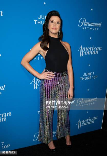 Actress Jennifer Bartels attends American Woman Premiere Party at Chateau Marmont on May 31 in Los Angeles California
