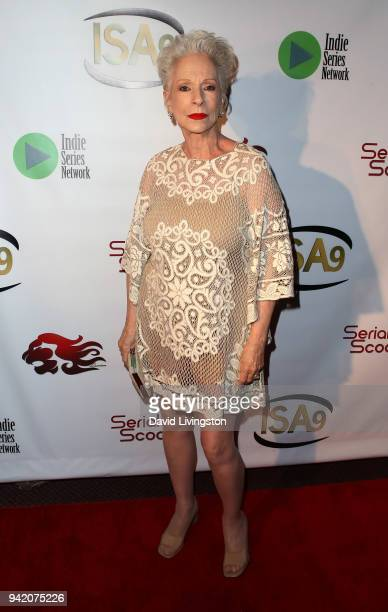 Actress Jennifer Bassey attends the 9th Annual Indie Series Awards at The Colony Theatre on April 4, 2018 in Burbank, California.