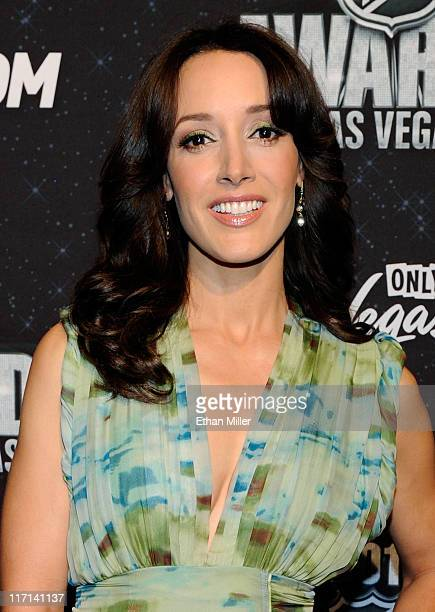 Actress Jennifer Beals arrives at the 2011 NHL Awards at the Palms Casino Resort June 22 2011 in Las Vegas Nevada