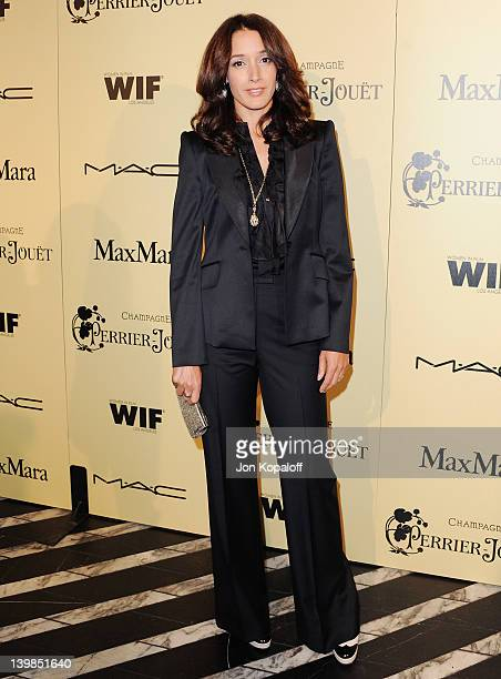 Actress Jennifer Beals arrives at the 5th Annual Women In Film PreOscar Cocktail Party at Cecconi's Restaurant on February 24 2012 in Los Angeles...
