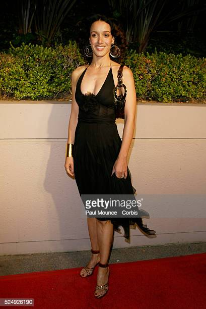 Actress Jennifer Beals arrives at the Miramax PreOscar 2004 Max Awards party at the StRegis Hotel