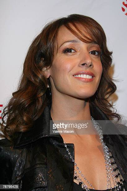 Actress Jennifer Beals arrives at the Season 5 Premiere Party For 'L Word' at The Factory on January 6 2008 in Los Angeles California