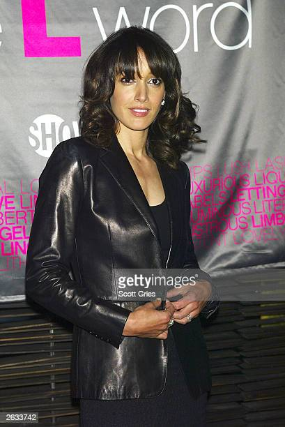 Actress Jennifer Beals at a preview luncheon for Showtime's new original series 'The L Word' at Blue Fin October 23 2003 in New York City