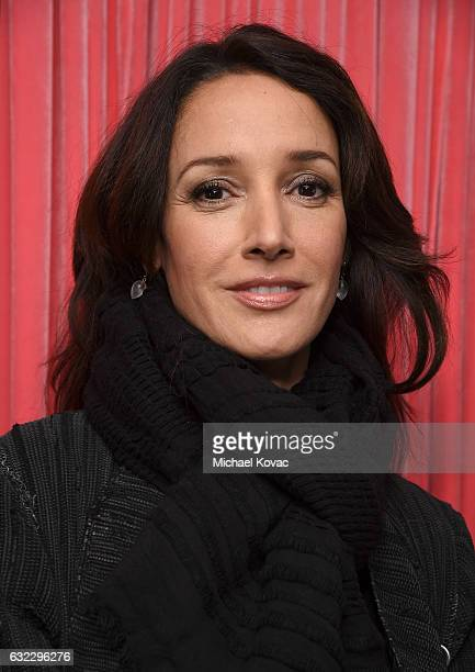 Actress Jennifer Beals attends Park City Live Presents The Hub Featuring The Marie Claire Studio and the 4K ULTRA HD Showcase Brought to You by the...