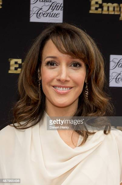Actress Jennifer Beals attends Saks Fifth Avenue Empire Fashion Week event on September 12 2015 in New York City