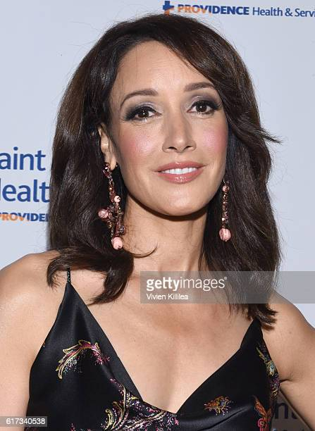 Actress Jennifer Beals attends St John's Health Center 2016 Caritas Gala on October 22 2016 in Beverly Hills California