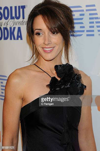 Actress Jennifer Beals attends the 19th Annual GLAAD Media Awards on May 10 2008 in San Francisco California