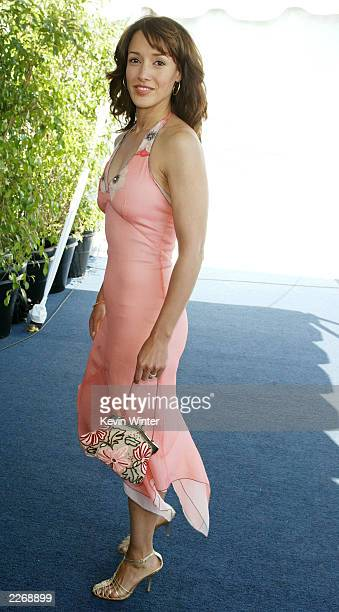 Actress Jennifer Beals attends the 2003 IFP Independent Spirit Awards on March 22 2003 in Santa Monica California