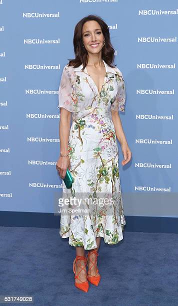 Actress Jennifer Beals attends the 2016 NBCUNIVERSAL Upfront at Radio City Music Hall on May 16, 2016 in New York City.