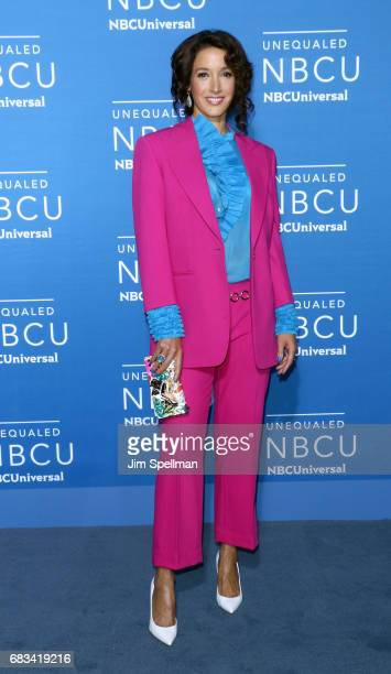 Actress Jennifer Beals attends the 2017 NBCUniversal Upfront at Radio City Music Hall on May 15 2017 in New York City
