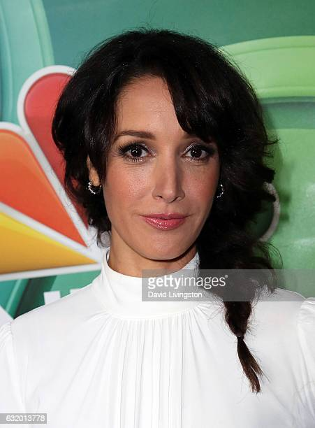Actress Jennifer Beals attends the 2017 NBCUniversal Winter Press Tour Day 2 at the Langham Hotel on January 18 2017 in Pasadena California