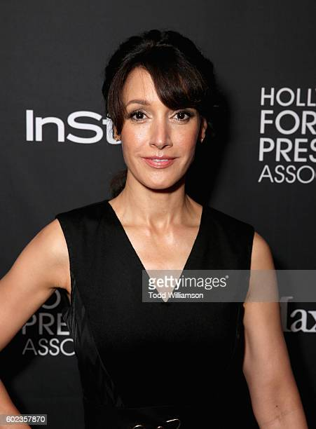 Actress Jennifer Beals attends the Hollywood Foreign Press Association and InStyle's annual celebration of the Toronto International Film Festival at...
