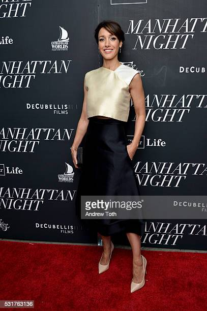 Actress Jennifer Beals attends the 'Manhattan Night' New York screening at Regal Cinemas Union Square on May 16 2016 in New York City