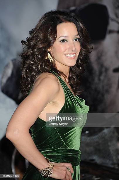 """Actress Jennifer Beals attends the """"The Book Of Eli"""" Los Angeles Premiere at Grauman's Chinese Theatre on January 11, 2010 in Hollywood, California."""