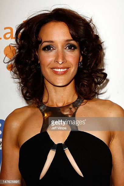 Actress Jennifer Beals during cocktails at the 19th Annual GLAAD Media Awards on April 25 2008 at the Kodak Theatre in Hollywood California