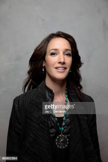 Actress Jennifer Beals from the film Before I Fall is photographed at the 2017 Sundance Film Festival for Los Angeles Times on January 19 2017 in...