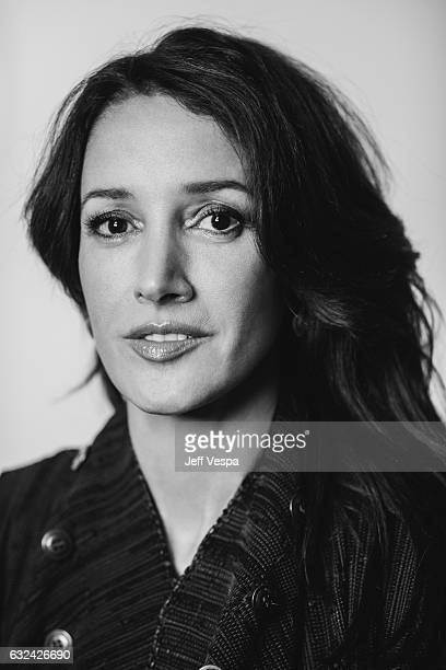 Actress Jennifer Beals from the film 'Before I Fall' poses for a portrait in the WireImage Portrait Studio presented by DIRECTV on January 20 2017 in...