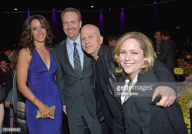 Actress Jennifer Beals Honoree Bob Greenblatt writer/director/producer Ryan Murphy and Executive Director of the Family Equality Council Jennifer...