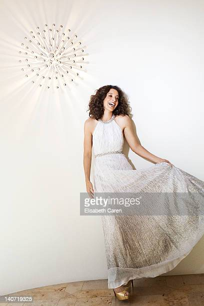 Actress Jennifer Beals is photographed for Viva on November 1 2009 in Los Angeles California PUBLISHED IMAGE