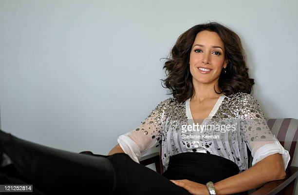 Actress Jennifer Beals is photographed for WWD on August 25 2010 in Los Angeles California