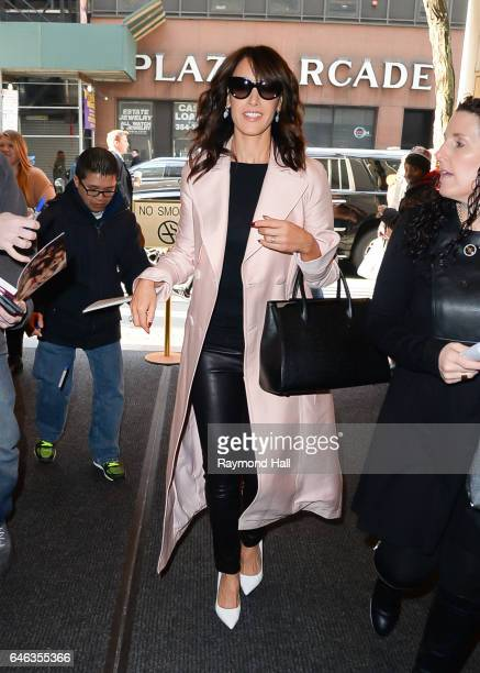 Actress Jennifer Beals is seen walking in Midtwn on February 28 2017 in New York City