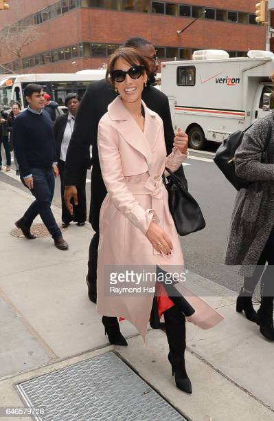 Actress Jennifer Beals is seen walking in Soho on February 28 2017 in New York City