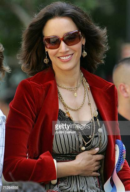 Actress Jennifer Beals participates in the 36th annual LGBT Pride Parade June 25, 2006 in San Francisco. Hundreds of thousands of spectators lined...