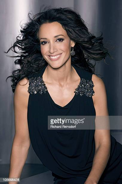 Actress Jennifer Beals poses at a portrait session for Self Assignment in Los Angeles CA on March 9 2010
