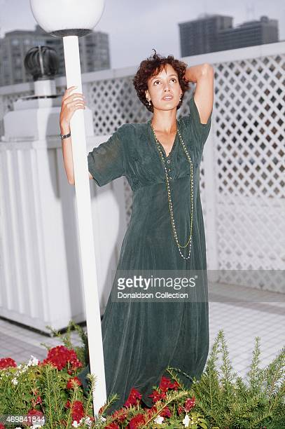 Actress Jennifer Beals poses for a portrait in September 1990 in Los Angeles California
