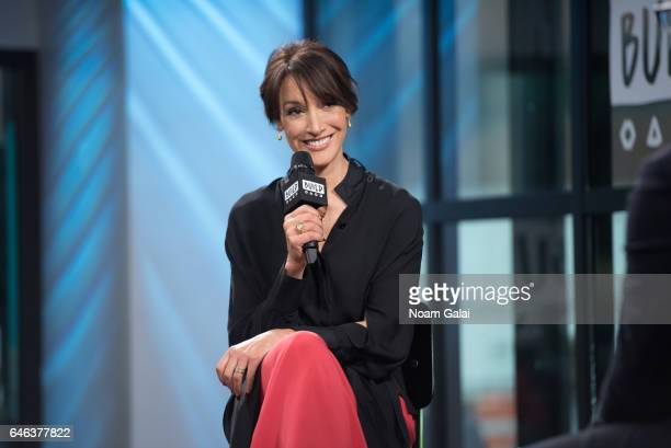 Actress Jennifer Beals visits Build Series to discuss Taken Before I Fall at Build Studio on February 28 2017 in New York City