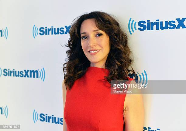 Actress Jennifer Beals visits SiriusXM Studios on June 1 2016 in New York City