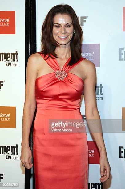 Actress Jennifer Bini Taylor arrives at the Entertainment Weekly And Women In Film's PreEmmy Party on September 17 2009 in Los Angeles California