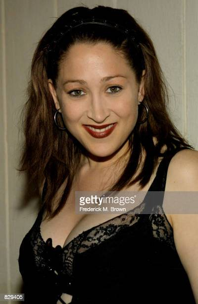 Actress Jennifer Blanc attends the Be In The Know preGrammy Party February 26 2002 in Los Angeles CA The party was sponsored by Perfect 10 Magazine
