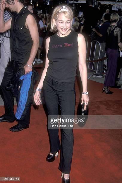 Actress Jennifer Blanc attends the 'Lara Croft: Tomb Raider' Westwood Premiere on June 11, 2001 at Mann Village Theatre in Westwood, California.