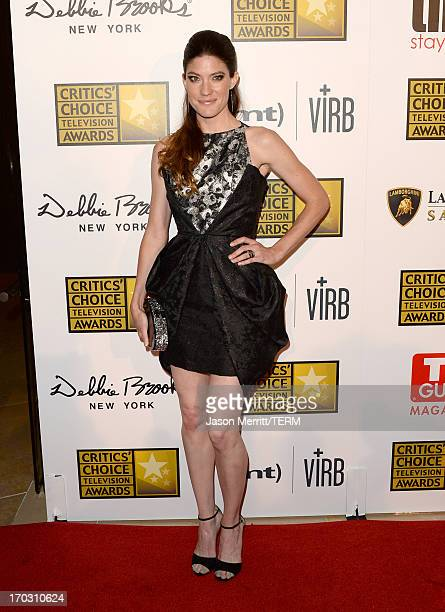 Actress Jennifer Carpenter arrives at Broadcast Television Journalists Association's third annual Critics' Choice Television Awards at The Beverly...