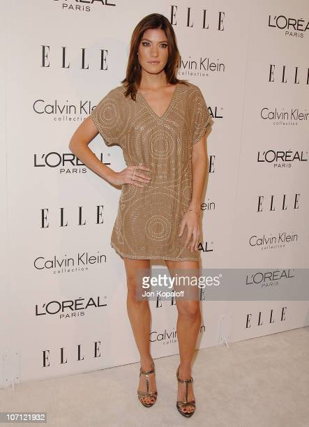 Actress Jennifer Carpenter arrives at ELLE's 16th Annual Women In Hollywood Event at the Four Seasons Hotel on October 19 2009 in Beverly Hills...