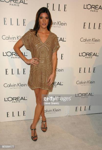 Actress Jennifer Carpenter arrives at Elle's 16th Annual Women In Hollywood Tribute at the Four Seasons Hotel on October 19 2009 in Beverly Hills...