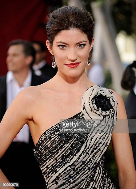 Actress Jennifer Carpenter arrives at the 61st Primetime Emmy Awards held at the Nokia Theatre on September 20 2009 in Los Angeles California