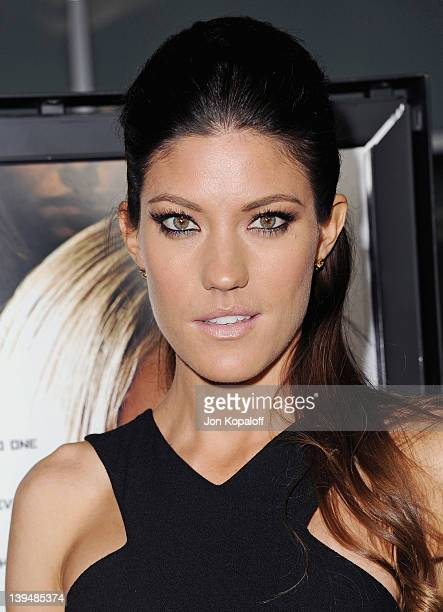 """Actress Jennifer Carpenter arrives at the Los Angeles Premiere """"Gone"""" at ArcLight Hollywood on February 21, 2012 in Hollywood, California."""