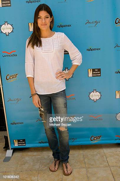 Actress Jennifer Carpenter attends Kari Feinstein MTV Movie Awards Style Lounge Day 1 at Montage Beverly Hills on June 3 2010 in Beverly Hills...