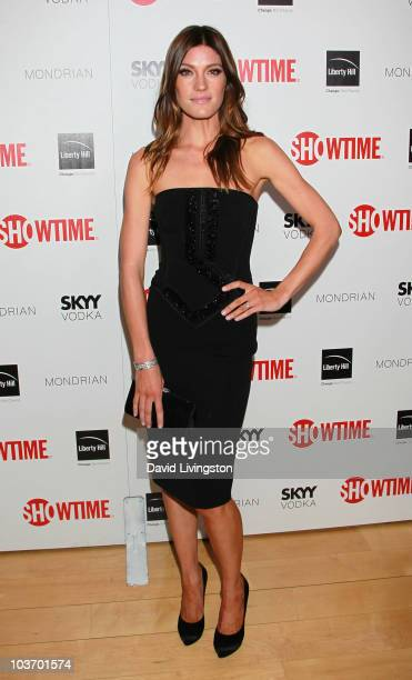 Actress Jennifer Carpenter attends Showtime's 2010 Emmy nominee reception at Skybar at the Mondrian on August 28 2010 in West Hollywood California