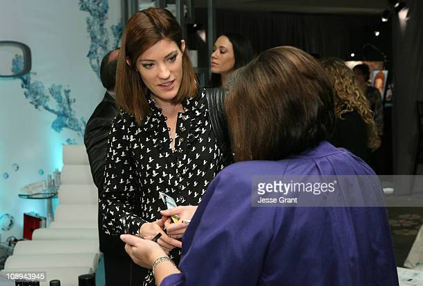 Actress Jennifer Carpenter attends the CVS Pharmacy Reinventing Beauty Bar at the Access Hollywood Stuff You Must Lounge produced by On 3 Productions...