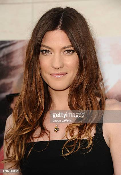 Actress Jennifer Carpenter attends the Dexter series finale season premiere party at Milk Studios on June 15 2013 in Hollywood California