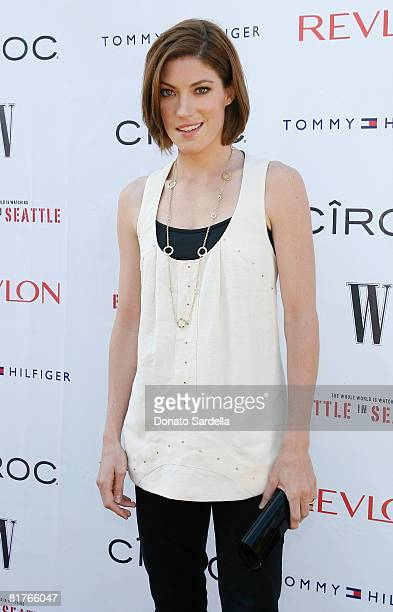 Actress Jennifer Carpenter attends the exclusive Malibu screening of Battle In Seattle hosted by W Magazine on June 29 2008 Malibu California