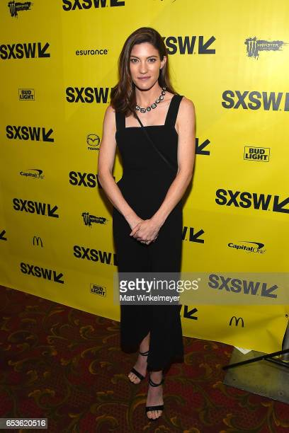 Actress Jennifer Carpenter attends the May It Last A Portrait Of The Avett Brothers premiere 2017 SXSW Conference and Festivals on March 15 2017 in...