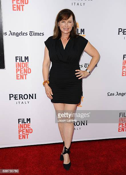 Actress Jennifer Collins attends the premiere of The Conjuring 2 at the 2016 Los Angeles Film Festival at TCL Chinese Theatre IMAX on June 7 2016 in...