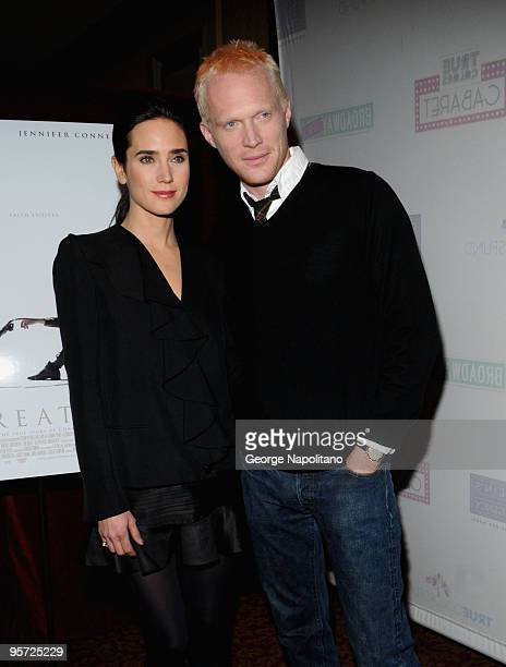 Actress Jennifer Connelly and actor Paul Bettany attends the 'Creation' photo call at the Regency Hotel on January 12 2010 in New York City