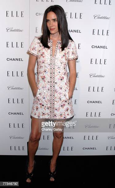 Actress Jennifer Connelly arrives at Elle's 14th Annual Women in Hollywood party held at the Four Seasons on October 15, 2007 in Los Angeles,...